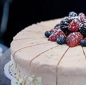 Wow Factor Desserts' Strawberry Blonde Cake