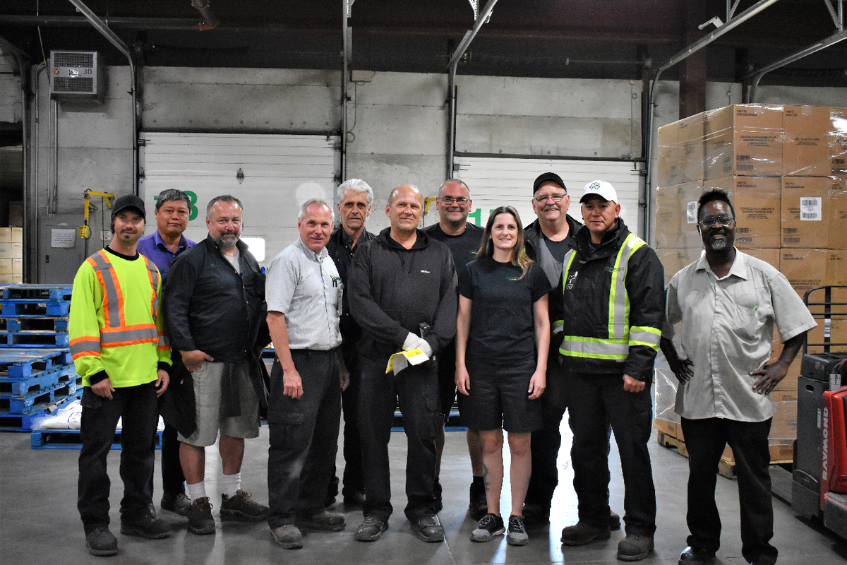 Flanagan Foodservice warehouse team