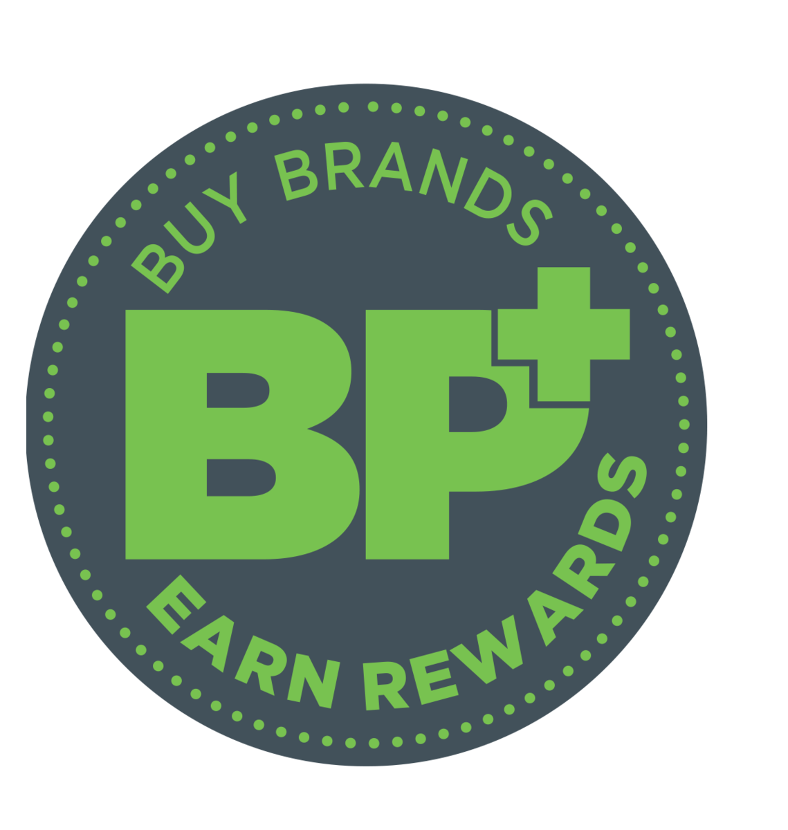 Buy Brand Points Plus Products and earn rewards