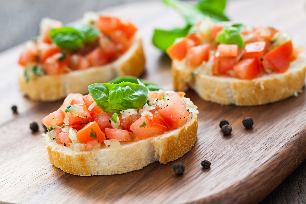Bruschetta on Bread_Appetizer