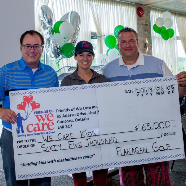 Flanagan Contributes $1 Million to We Care