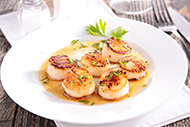 Grille and Galley Scallops