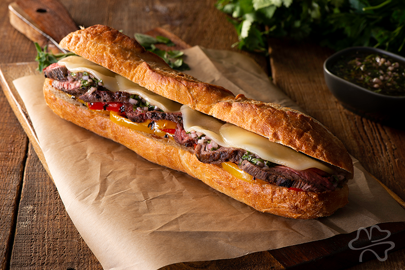 Argentinian Steak Sandwich Recipe Photo