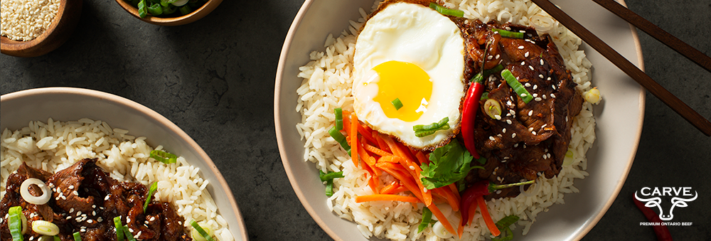 Carve Beef Korean Beef Bowl Recipe Photo