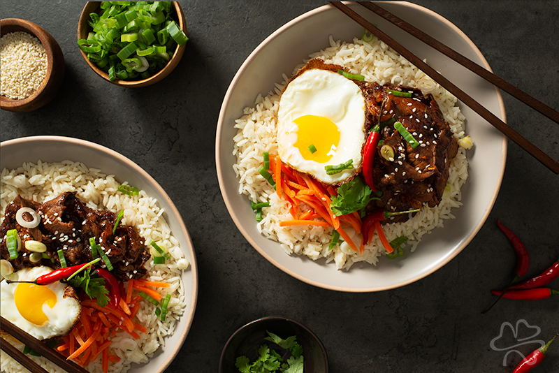 Korean Beef Bowl Recipe Photo