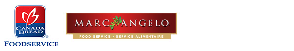 Canada Bread Foodservice logo and Marc Angelo Food Service Logo